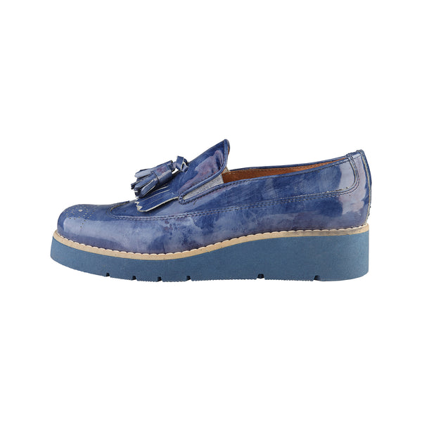Ana Lublin navy Women Moccasins