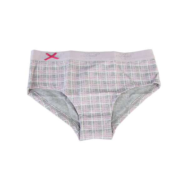 Datch lightgray, plum Kids French knickers