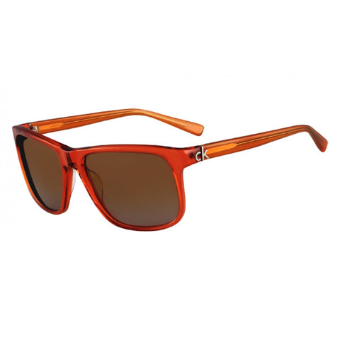 Calvin Klein Brown Unisex Sunglasses