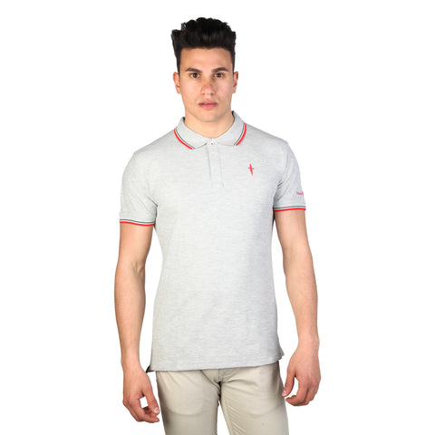 Cesare Paciotti Grey Men Polo