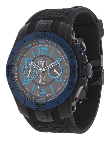 Cerruti black, blue Men Watches