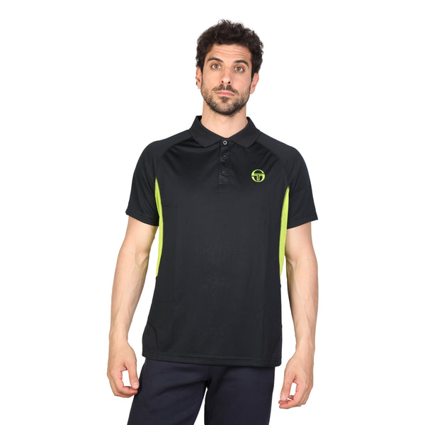 Tacchini Black Men Polo