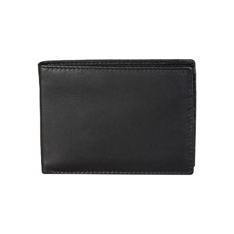 Made In Italia Black Wallets