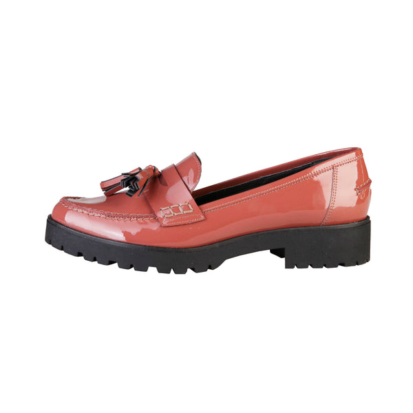 Ana Lublin indianred Women Moccasins