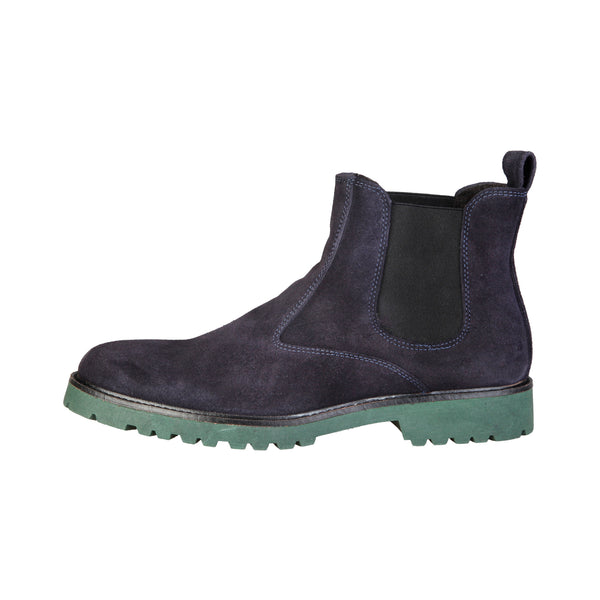 Made in Italia darkblue Men Ankle boots