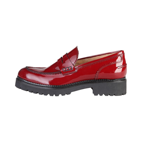 Made in Italia Red Women Moccasins
