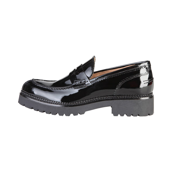 Made in Italia Black Women Moccasins