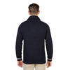 Oxford University Blue Pullovers - OXFORD_TRICOT-SHAWL-NAVY