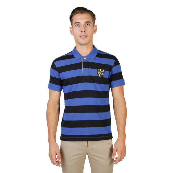 Oxford University Black Polo - TRINITY-RUGBY-MM-BLACK