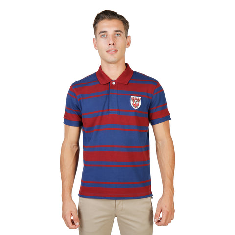 Oxford University Red Polo - QUEENS-RUGBY-MM-RED