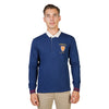 Oxford University Blue Polo - ORIEL-POLO-ML-NAVY
