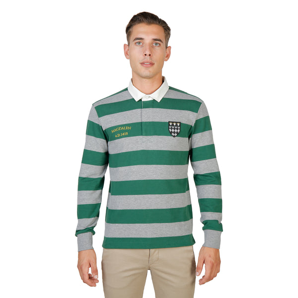 Oxford University Green Polo - MAGDALEN-RUGBY-ML-GREEN