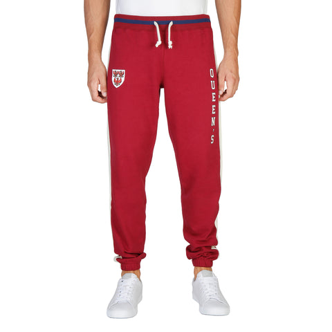 Oxford University Red tracksuit pants - QUEENS-PANT-RED