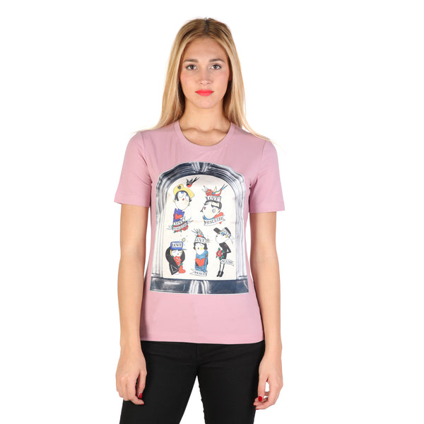 Love Moschino Pink T-shirts