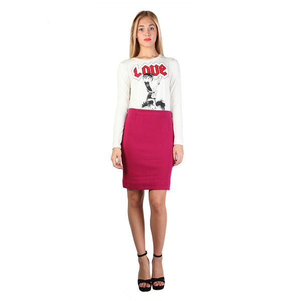 Love Moschino White Dresses - W_5_766_01_M_3511_4249