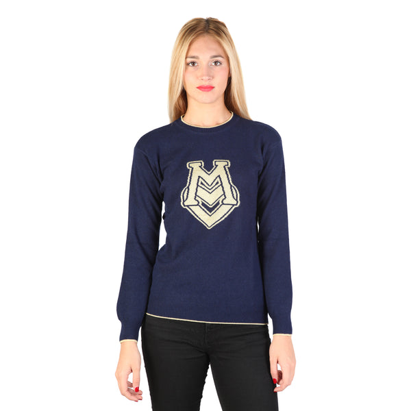 Love Moschino Blue Pullovers
