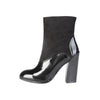 V 1969 Black ankle boots