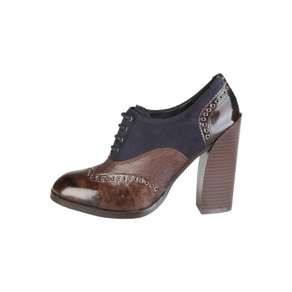 V 1969 Brown Lace up - ARLETTE_MARRONE