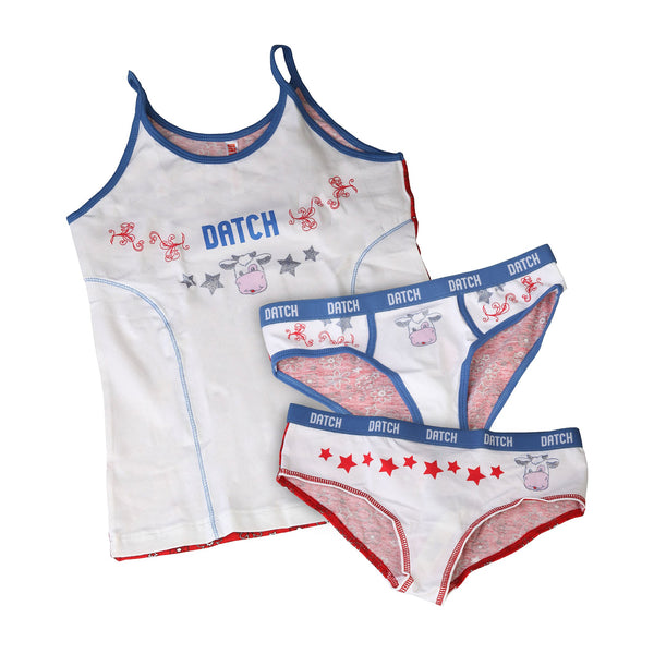 Datch white,red Kids Box