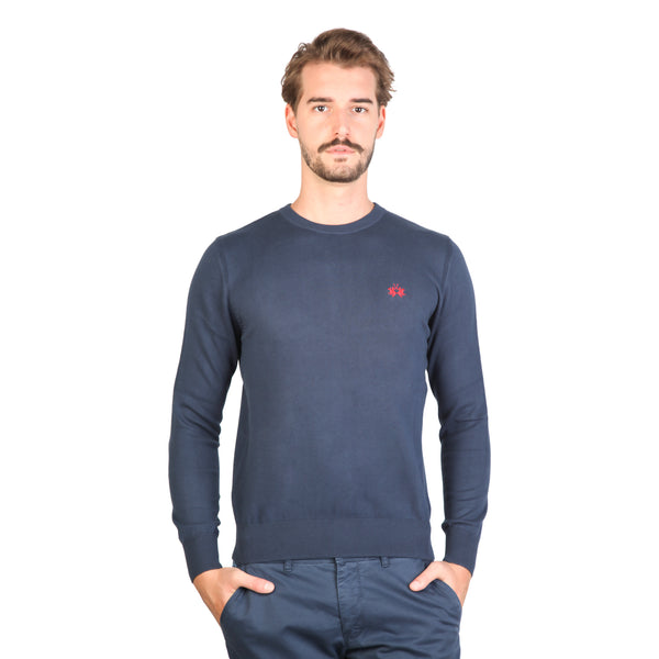 La Martina Blue Pullovers
