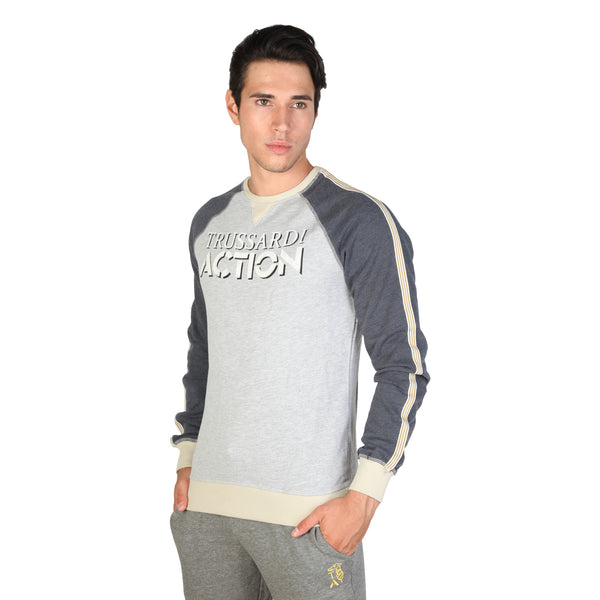 Trussardi Grey Sweaters