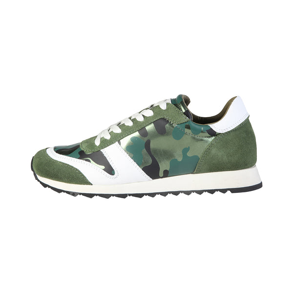 Trussardi Green sneakers - 79S107XX_58_MILITARY