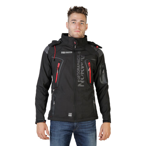 Geographical Norway Black Jackets - Tambour_man_black