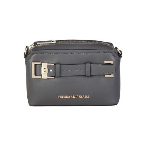Trussardi Grey clutch bags