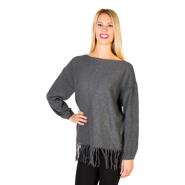 Silvian Heach Black Women Sweaters
