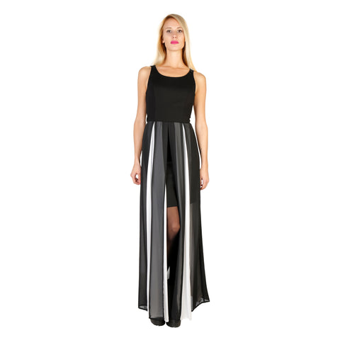 Silvian Heach Black Dresses - PGA16051VE_BLACK-BIANCO