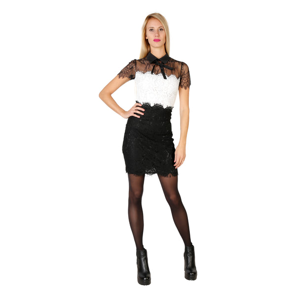 Silvian Heach black, white Women Dresses