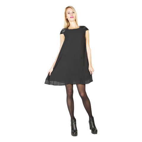 Silvian Heach Black Dresses - PGA16653VE_BLACK