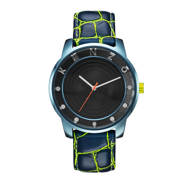 Kenzo blue, yellow Unisex Watches