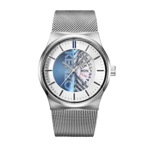 Kenzo gray, white Unisex Watches