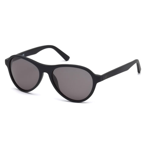 Web Unisex Black Sunglasses
