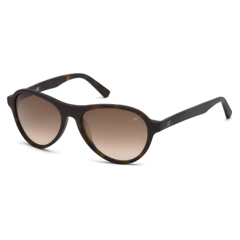 Web Unisex Brown Sunglasses