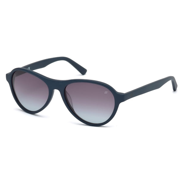 Web Unisex Blue Sunglasses