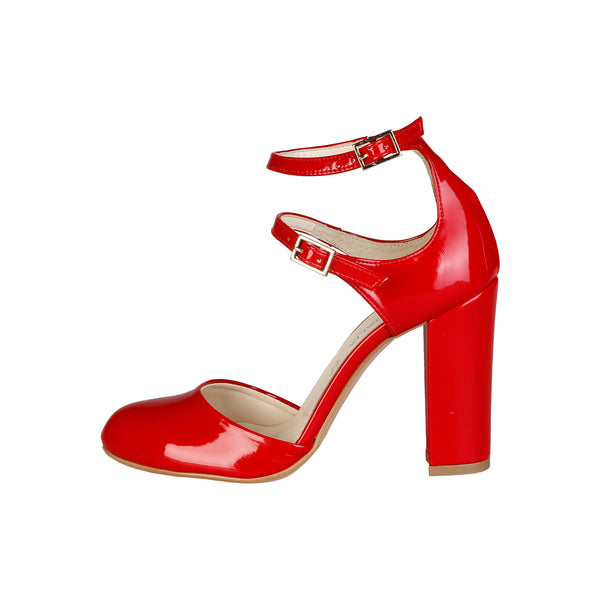 Made in Italia Red High Heels