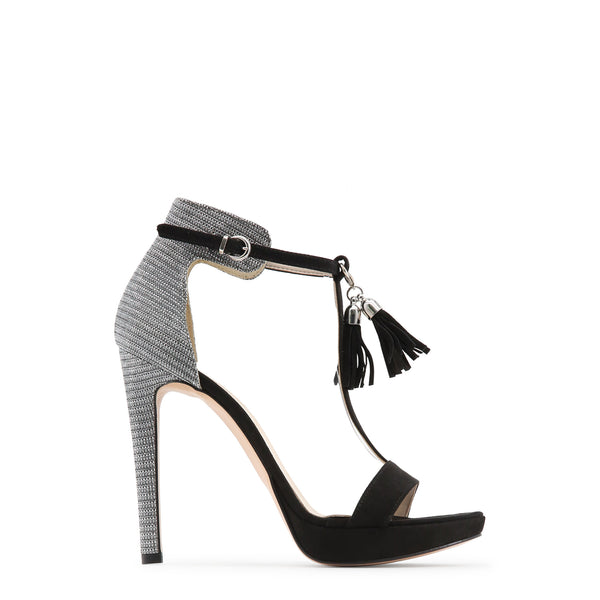 Made in Italia black,silver Women Sandals