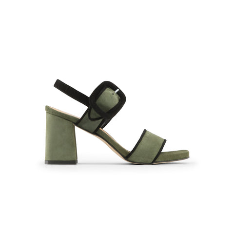 Made in Italia darkolivegreen,black Women Sandals