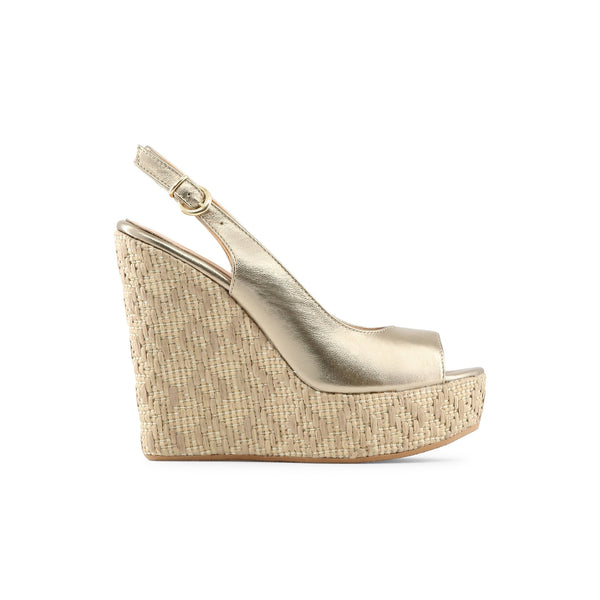 Made in Italia gold,navajowhite Women Wedges