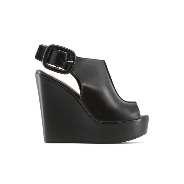 Made in Italia Black Women Wedges