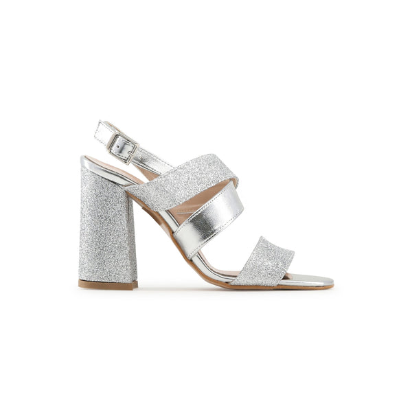 Made in Italia Silver Women Sandals
