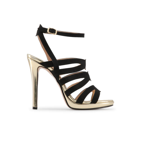 Made in Italia black,gold Women Sandals