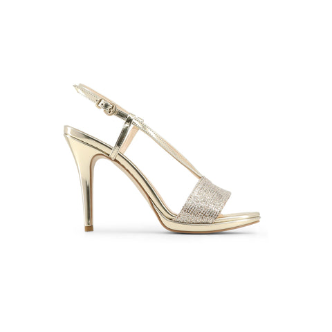 Made in Italia Gold Women Sandals