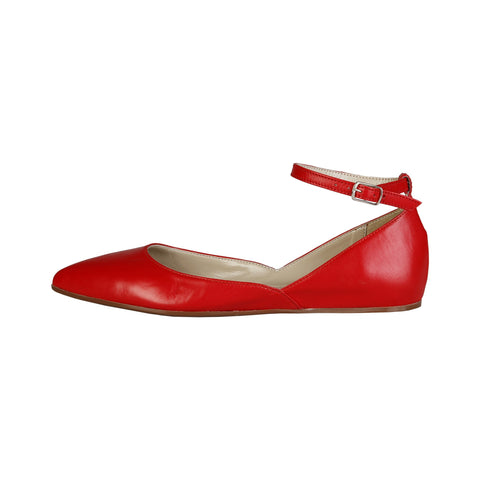 Ana Lublin Red Ballet flats