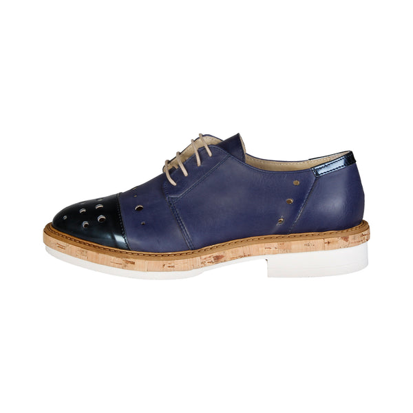 Made in Italia Blue Lace up