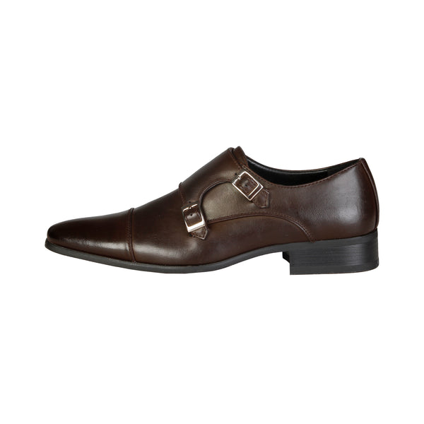 V 1969 Brown Men Flat shoes