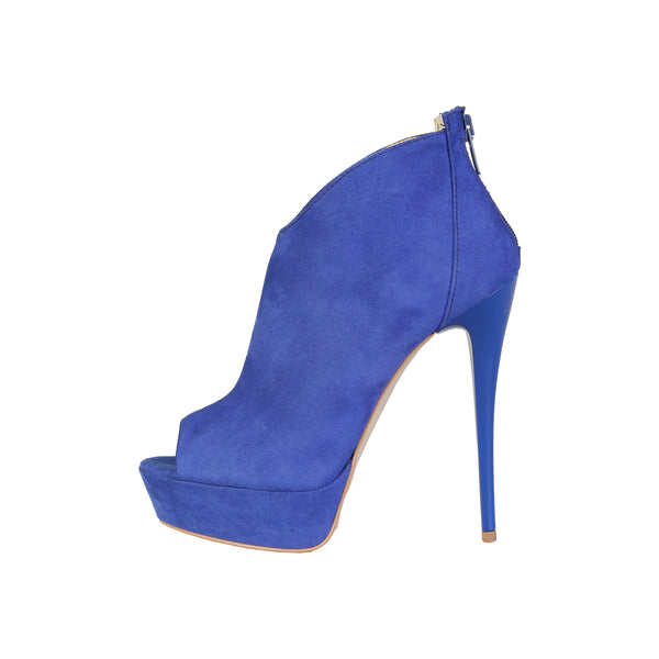V 1969 Blue Women Ankle boots