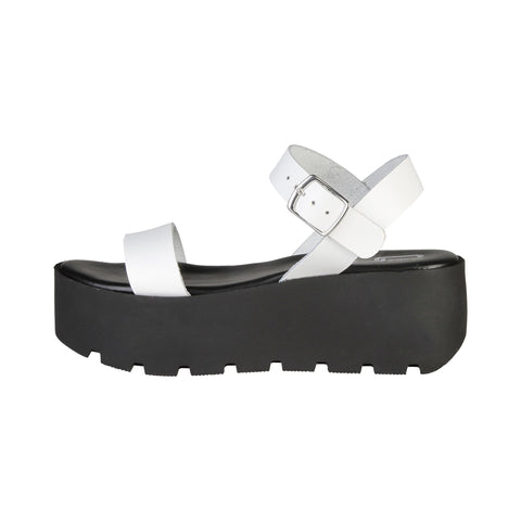 Ana Lublin White Women Sandals